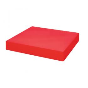 Bloc de découpe polyéthylène rouge