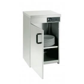 armoire chauffe assiettes sans ventilation 1 porte