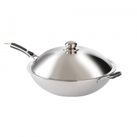 Wok inox pour induction
