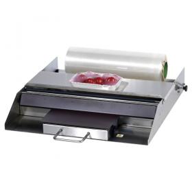 Dérouleur de film avec plaque chauffante laize 600mm
