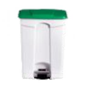 Poubelle plastique 90 litres verte