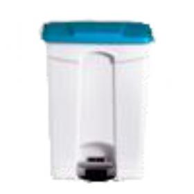 Poubelle plastique 90 litres bleue