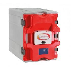 Coffre isotherme 12 niveaux gn1/1-20 avec porte
